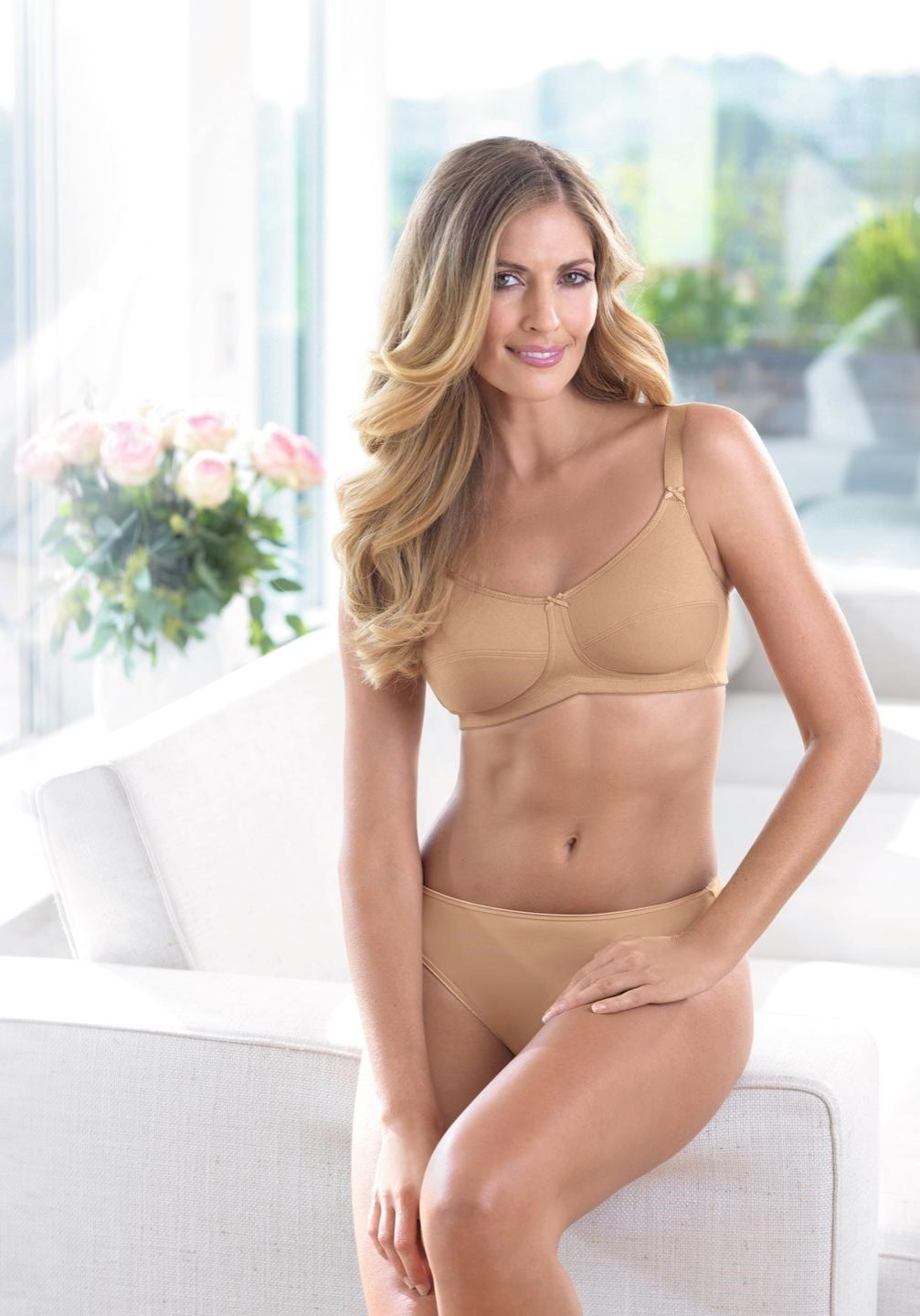 Allie Bra in Beige
